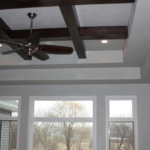Coffered Ceiling in Living Room (Rose Meadow)
