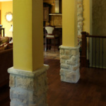 Beautiful Columns in Great Room (Northwoods)