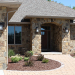 Front Door and Custom Landscaping (Waterstone)