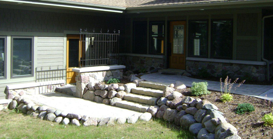 Front Exterior (Wood Lake)