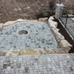 Built-in Firepit (Rose Meadow)