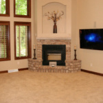 Fireplace in Great Room (Forest Glenn Custom)