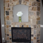 Master Bedroom Fireplace (Waterstone)
