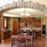 Great Room to Kitchen (Heron Ridge)