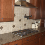 Kitchen with Tile Backsplash (The Silvercrest)