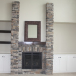 Great Room Fireplace (Lilac)
