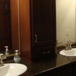 Master Bathroom Dual Sink Vanity (Silver Birch)