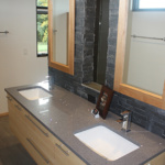 Master Bathroom Dual Vanities (Stone Creek)