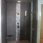 Master Bathroom Walk-in Shower (Stone Creek)