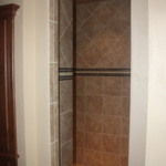 Master Bathroom Walk-in Shower (The Silvercrest)