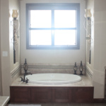 Master Bathroom Tub (The Silvercrest)