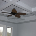 Coffered Ceiling in Master Bedroom (Rose Meadow)