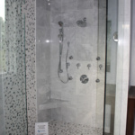 Master Bath Walk-in Shower (Rose Meadow)
