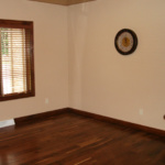 Office with Custom Wood Floors (Forest Glenn Custom)