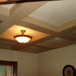Coffered Office Ceiling (Forest Glenn Custom)
