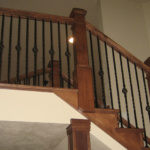 Staircase to Loft (Forest Glenn Custom)