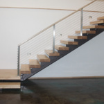 Custom Metal Staircase (Stone Creek)