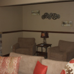 Sitting Area off Theater Room (The Silvercrest)