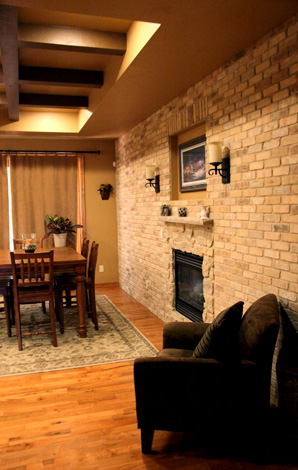 Newton le stone silvercrest construction group for 2 way fireplace