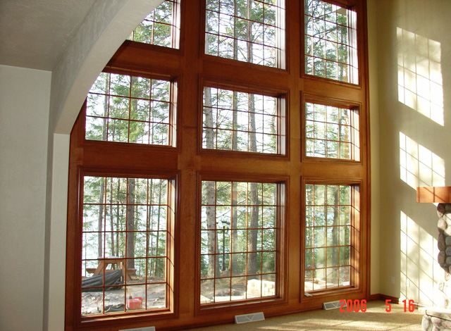 Post lake silvercrest construction group Lake house windows